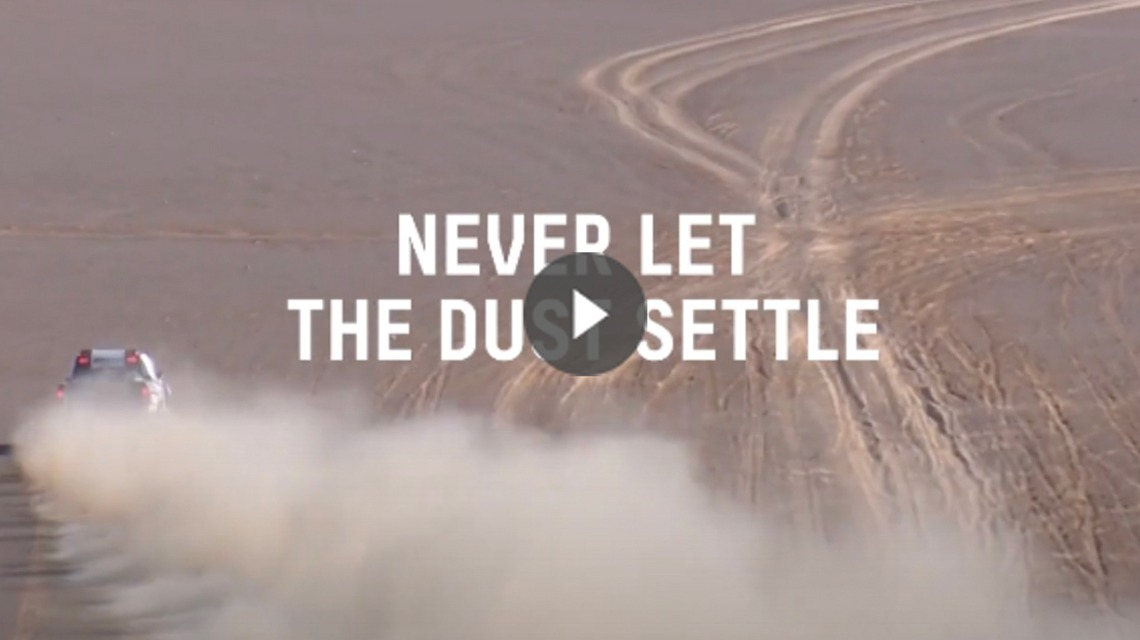 Dakar Rally 2020 - NEVER LET THE DUST SETTLE